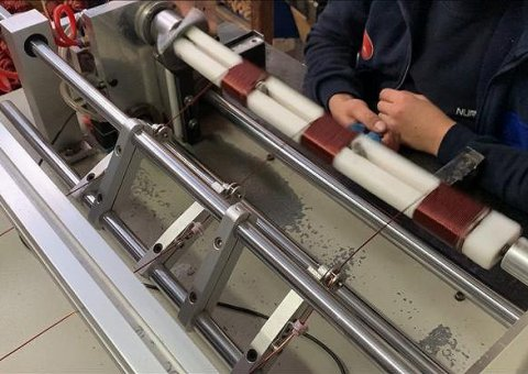 Automatic Wire Winding